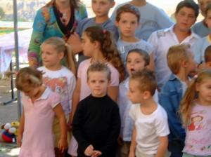 Classe des moyens maternelle Rougiers 2005