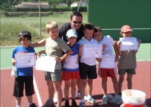 Ecole de tennis 2007
